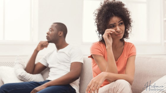 How To Get A Divorce In WA - Sad couple - Family Lawyers Perth